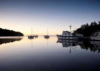 Photograph - Boats On Loch Lomond by Stephen Taylor