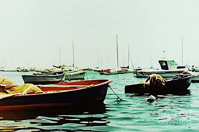 Photograph - Boats On Mar Menor 2 by Sarah Loft