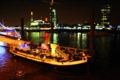 Photograph - Boats On Thames - London by Doc Braham