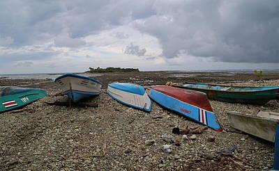 Boats On The Beach 2 Original