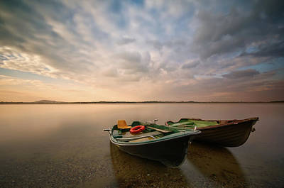 Rowboat Photograph - Boats by Piotr Krol (bax)