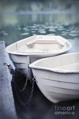 Boats Art Print by Priska Wettstein