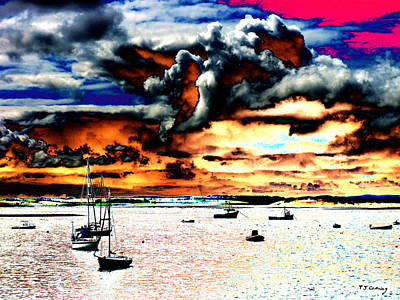 Photograph - Boats  by Tom Conway