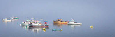 Art Print featuring the photograph Boats  by Trace Kittrell
