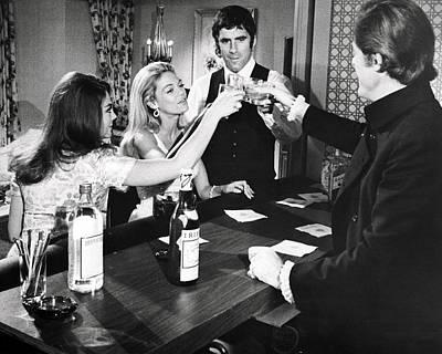 1960 Photograph - Bob & Carol & Ted & Alice  by Silver Screen
