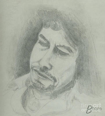 Hall Of Fame Drawing - Bob by Blg H