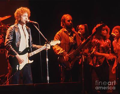 Bob Dylan Photograph - Bob Dylan 1980 Saved Tour by Chuck Spang