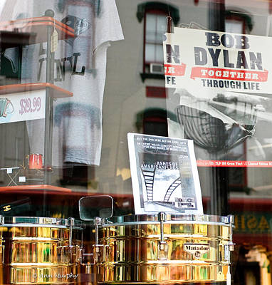 Photograph - Bob Dylan by Ann Murphy