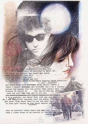Bob Dylan The Freewheelin' Original by Angelo Liberati