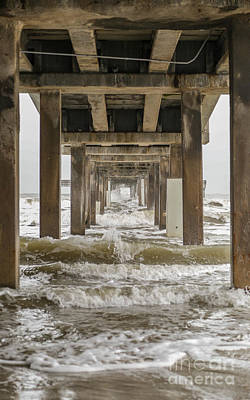 Photograph - Bob Hall Pier by Terry Cotton