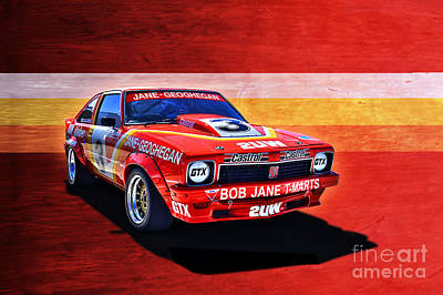 Muscle Car Masters Photograph - Bob Jane Torana A9x by Stuart Row