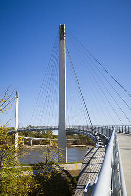Photograph - Bob Kerrey Pedestrian Bridge by Chris Reed