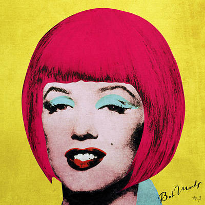Bob Marilyn  Variant 1 Print by Filippo B