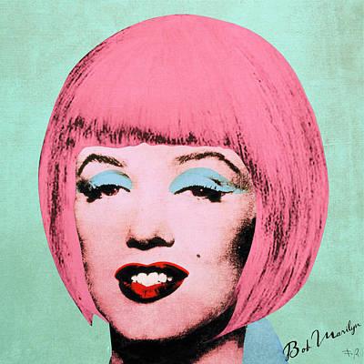 Bob Marilyn  Variant 2 Art Print by Filippo B