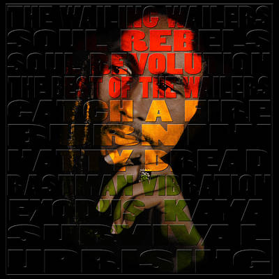 Rastafarian Photograph - Bob Marley 2 by Andrew Fare