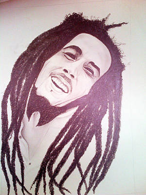 Bob Marley Art Print by Aileen Carruthers