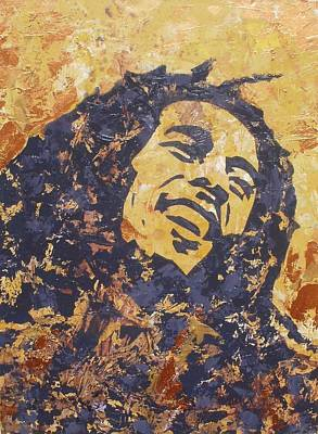 Bobmarley Painting - Bob Marley by David Shannon