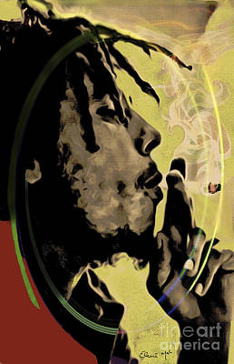 Digital Art - Bob Marley by Eleni Mac Synodinos