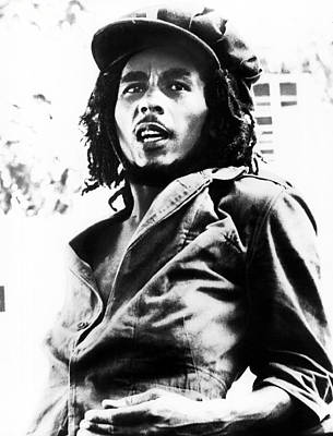Bob Marley In His Youth Art Print