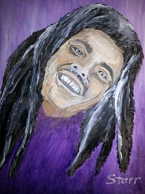Old Masters Royalty Free Images - Bob Marley Royalty-Free Image by Irving Starr