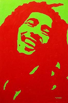 Warhol Painting - Bob Marley by John  Nolan