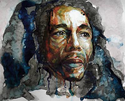 Painting - Bob Marley by Laur Iduc
