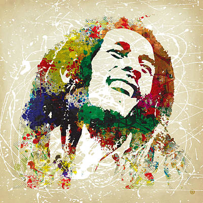Painting - Reggae Music Man 2 by Gary Grayson