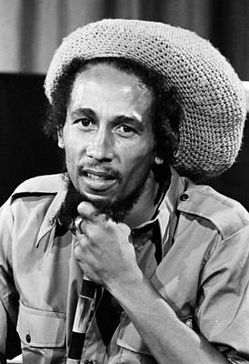 Singer Photograph - Bob Marley by Retro Images Archive