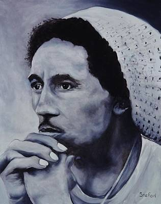 Bob Marley Art Print by Stefon Marc Brown