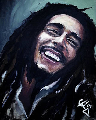 Pittsburgh According To Ron Magnes - Bob Marley by Tom Carlton