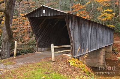 Photograph - Bob White Covered Bridge by Adam Jewell