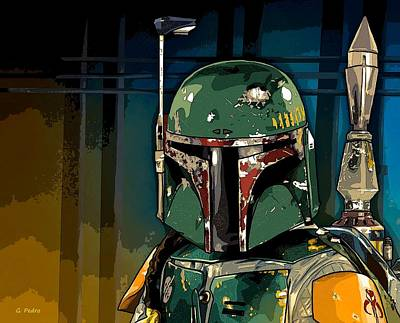 Photograph - Boba Fett 2 by George Pedro
