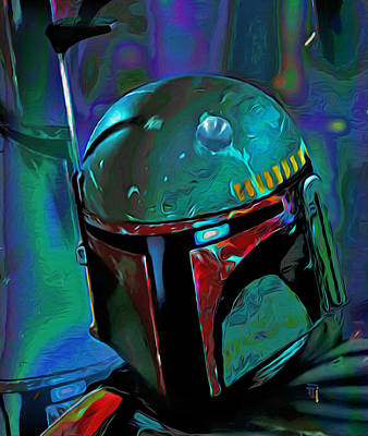 Boba Fett 3 Print by  Fli Art