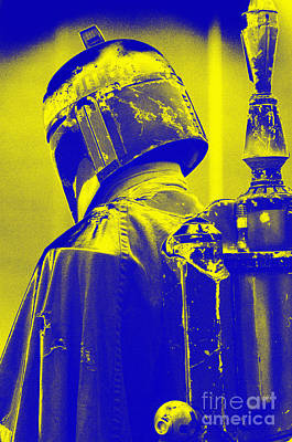 Screen Used Photograph - Boba Fett Costume 1 by Micah May