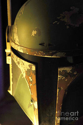 Science Fiction Photograph - Boba Fett Helmet 124 by Micah May