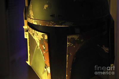 Jet Star Photograph - Boba Fett Helmet 125 by Micah May