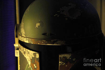 Jet Star Photograph - Boba Fett Helmet 126 by Micah May