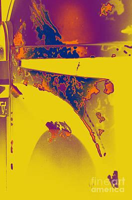 Boba Fett Helmet 6 Art Print by Micah May