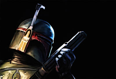 Painting - Boba Fett by Jeff DOttavio