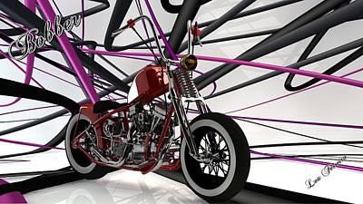 Digital Art - Bobber by Louis Ferreira