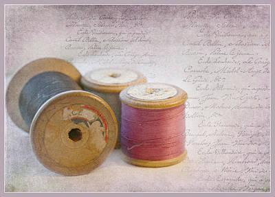 Photograph - Bobbins by Julie Williams