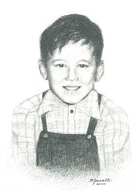 Drawing - Bobby by Barbara Jewell