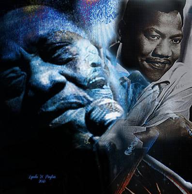 Bobby Blue Bland Art Print by Lynda Payton