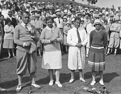 Photograph - Bobby Jones At Pasatiempo by Underwood Archives