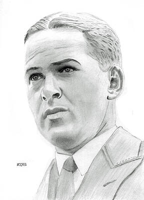 Drawing - Bobby Jones by Pat Moore