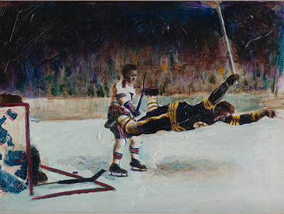 Bobby Orr Painting - Bobby Orr by Charles  Bickel
