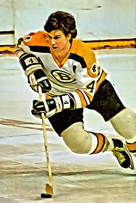 Painting - Bobby Orr by Florian Rodarte