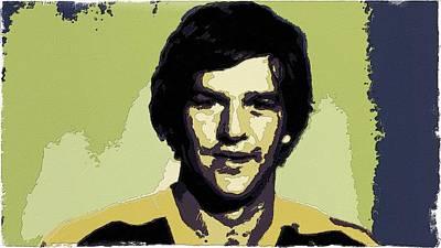 Bobby Painting - Bobby Orr Poster Art by Florian Rodarte