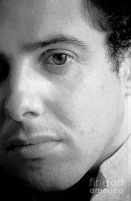 Digital Photograph - Bobby Portrait by Richard Morris