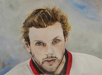Painting - Bobby Ryan by Betty-Anne McDonald